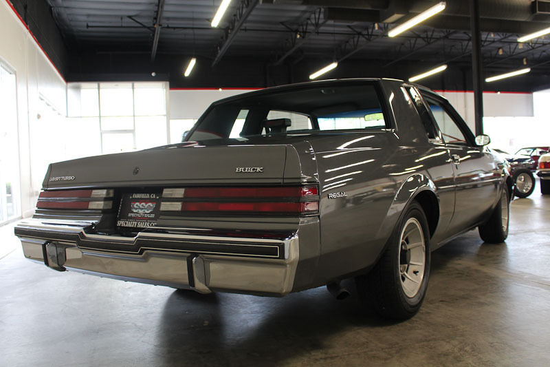 1986 Buick Regal T Type Turbo For Sale