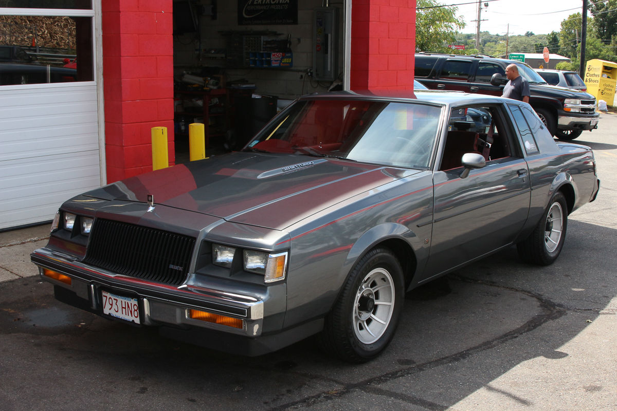 1987 Buick Regal Coupe Turbo For Sale