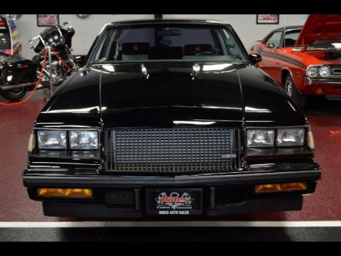 1987 Buick Regal Grand National Turbo for sale