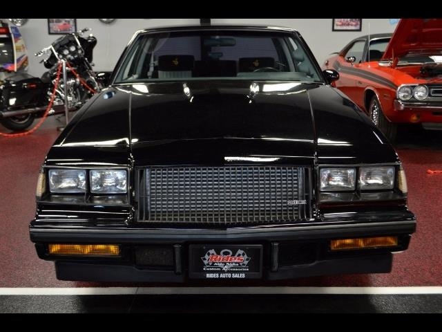 Buick Regal T Type >> 1987 Buick Regal Grand National Turbo for sale