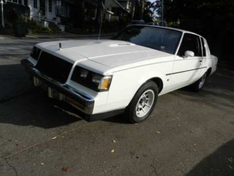 1987 Buick Regal T-Type Limited Turbo Coupe for sale