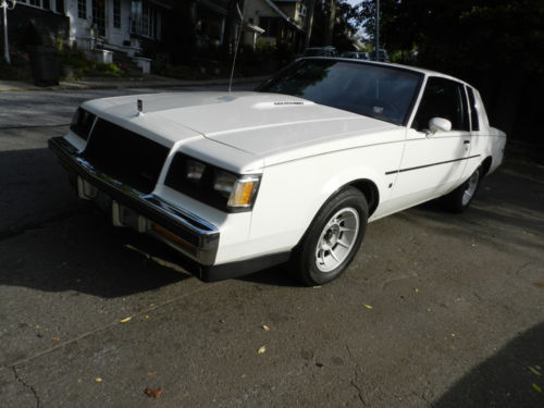 1987 Buick Regal T-Type Limited Turbo Coupe