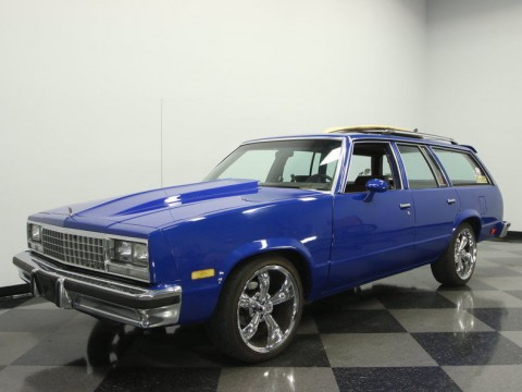 1983 Chevrolet Malibu Classic Wagon 4 Door for sale