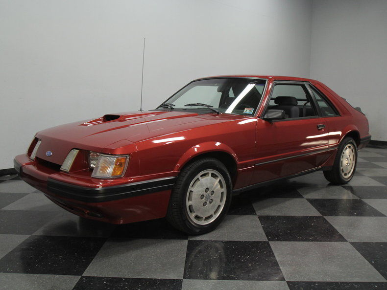 1986 ford mustang svo hatchback 2 door for sale. Black Bedroom Furniture Sets. Home Design Ideas