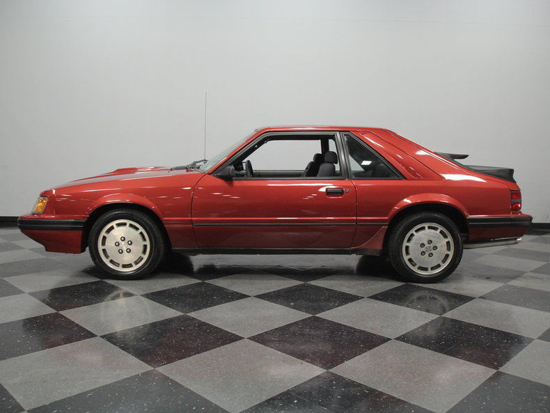 1986 Ford Mustang SVO Hatchback 2 Door