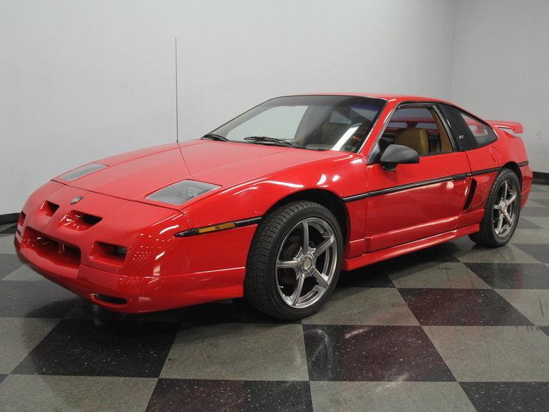 1988 Pontiac Fiero GT Coupe 2 Door