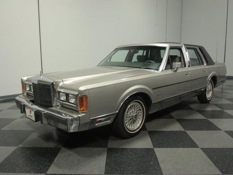 1989 Lincoln Town Car Signature Sedan 4 Door For Sale
