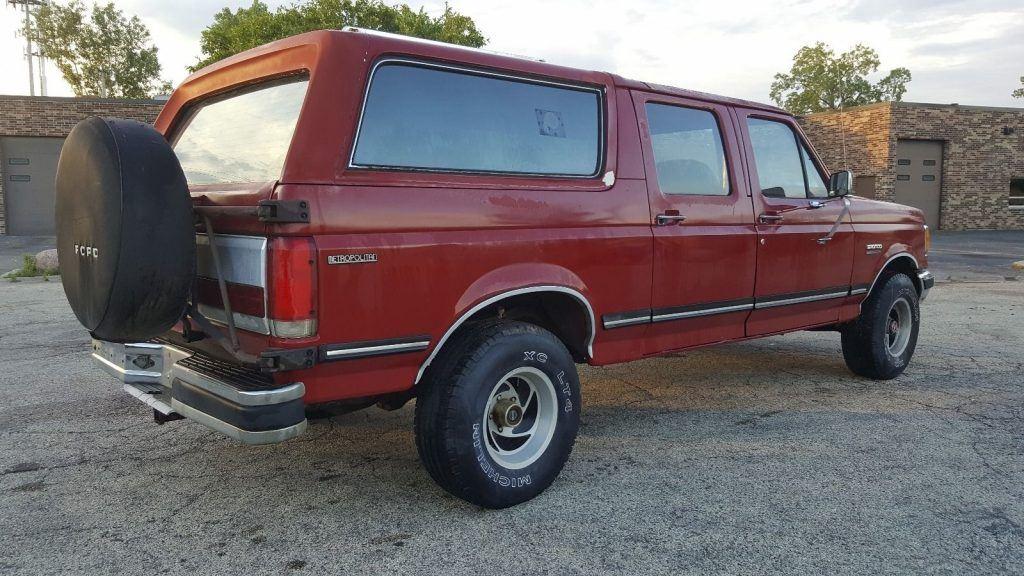 1989 Ford Bronco Metropolitan U100