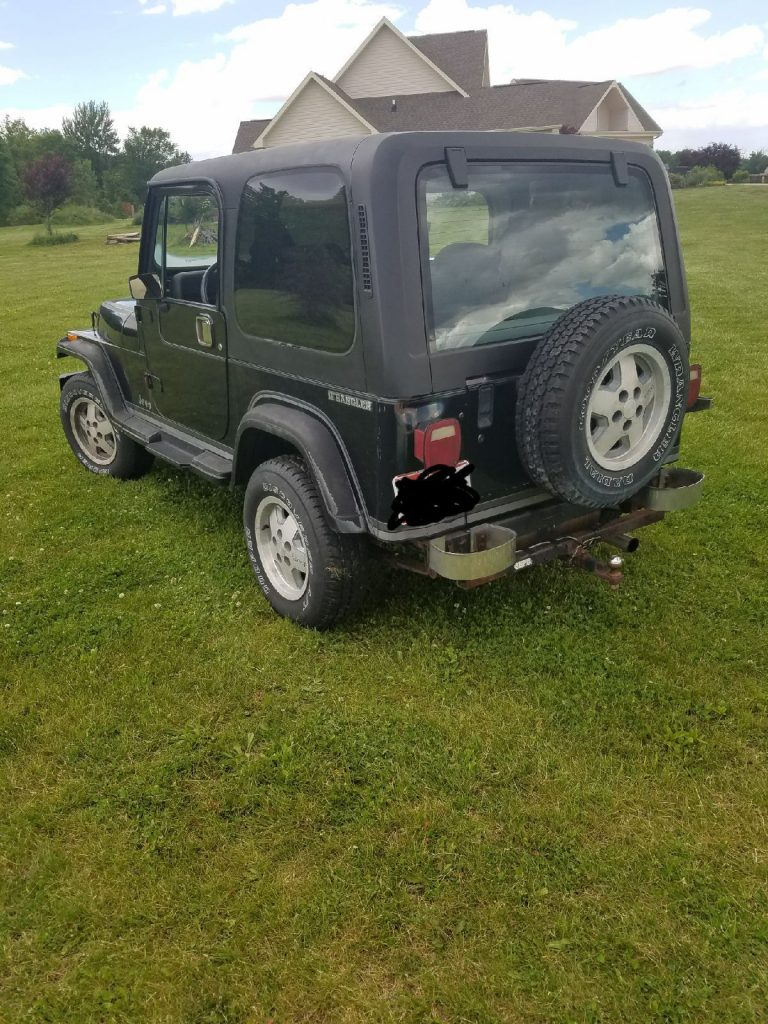 Gray 1988 Jeep Wrangler For Sale