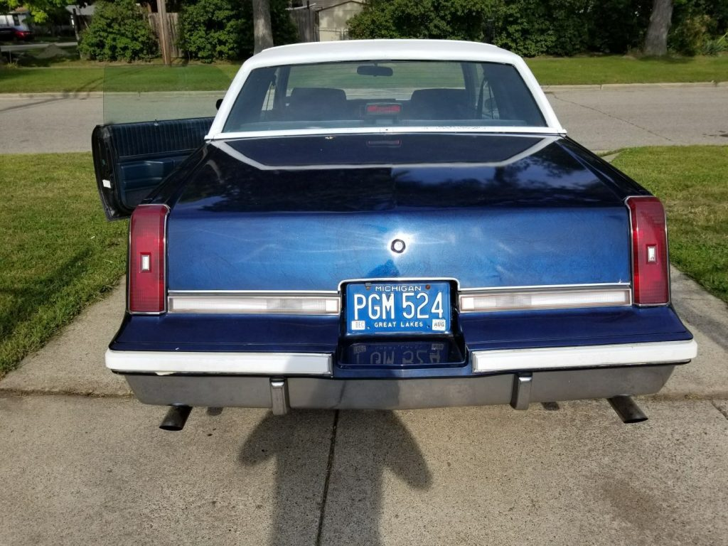 Old school 1987 Oldsmobile Cutlass
