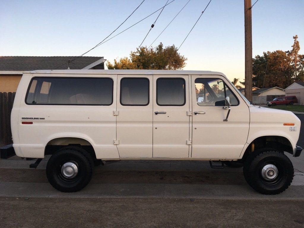 1981 Ford E 350 Econoline 4 215 4 Van For Sale