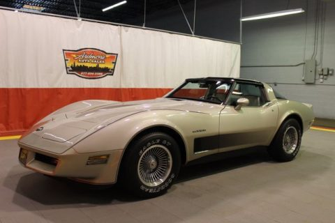 1982 Chevrolet Corvette, Silver Beige Metallic, 8949 Miles for sale