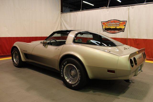 1982 Chevrolet Corvette, Silver Beige Metallic, 8949 Miles