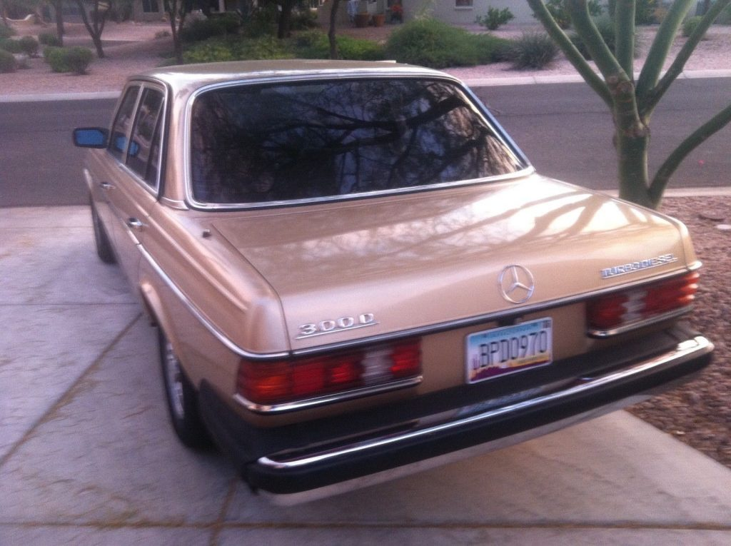 1985 Mercedes-Benz 300 Turbodiesel