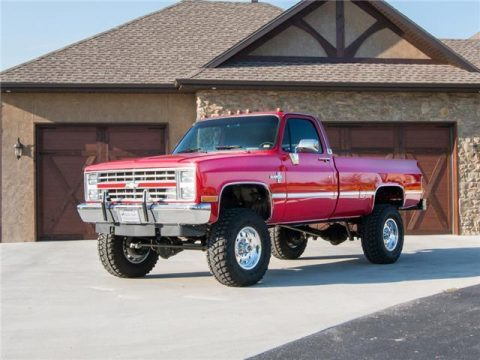 1987 Chevy Silverado K30 Single Wheel after meticulous restoration for sale