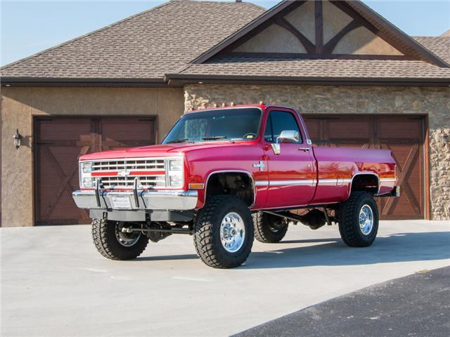 Chevy 1500 For Sale >> 1987 Chevy Silverado K30 Single Wheel after meticulous restoration for sale
