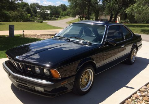 1988 BMW M6 E24 sport coupe for sale