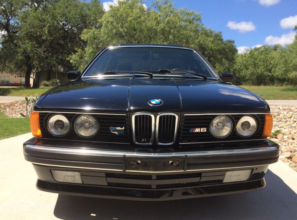1988 BMW M6 E24 sport coupe