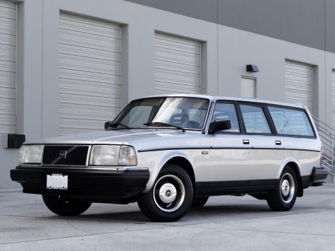 1987 Volvo 240 / 245 DL Wagon (manual) for sale