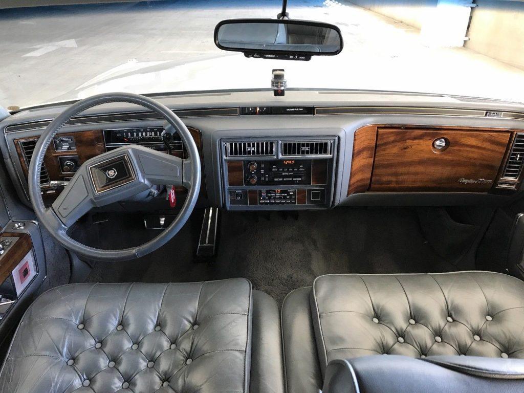 Pristine 1989 Cadillac Brougham d'Elegance