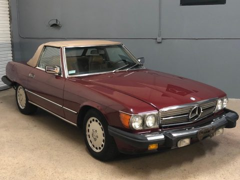 1986 Mercedes Benz SL Class – very nice condition for sale