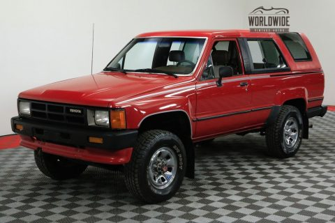 1986 Toyota 4runner Original LOW Miles Manual Collector GRADE for sale
