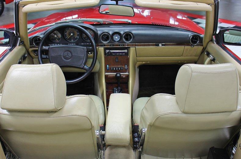 1987 Mercedes Benz SL Class