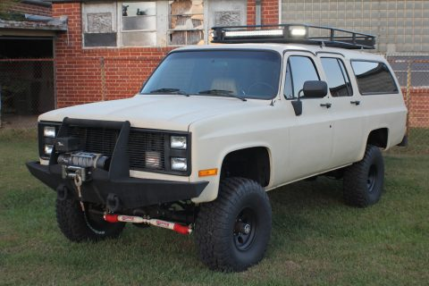 Fully customized 1985 Chevrolet Suburban for sale