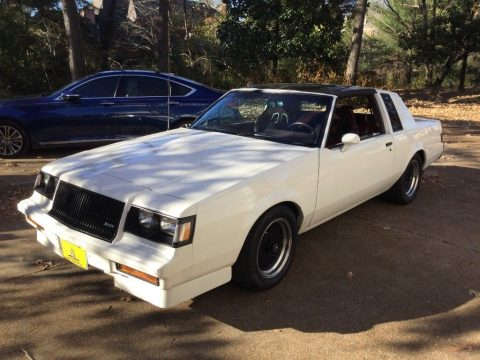 Nice 1987 Buick Regal T Type for sale