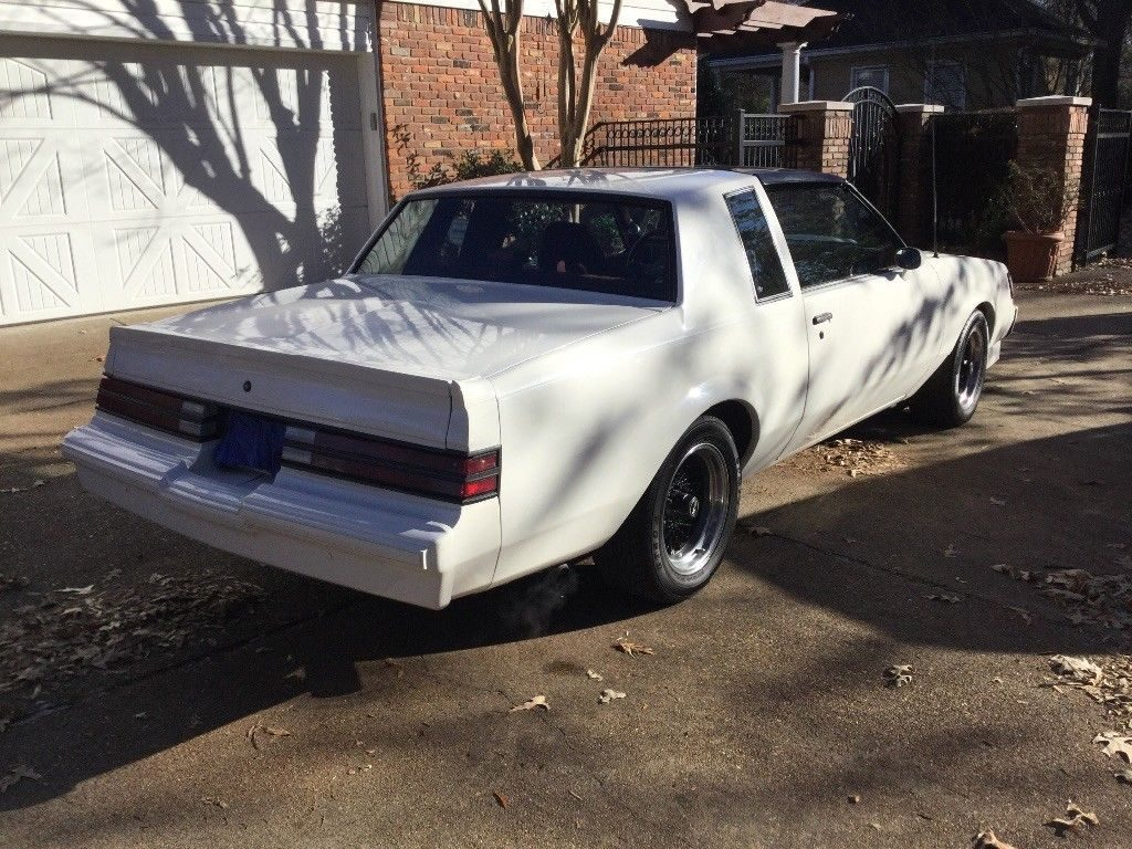 Nice 1987 Buick Regal T Type