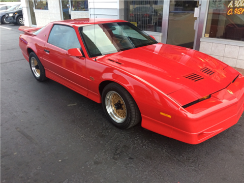 RARE 1988 Pontiac Firebird GTA for sale