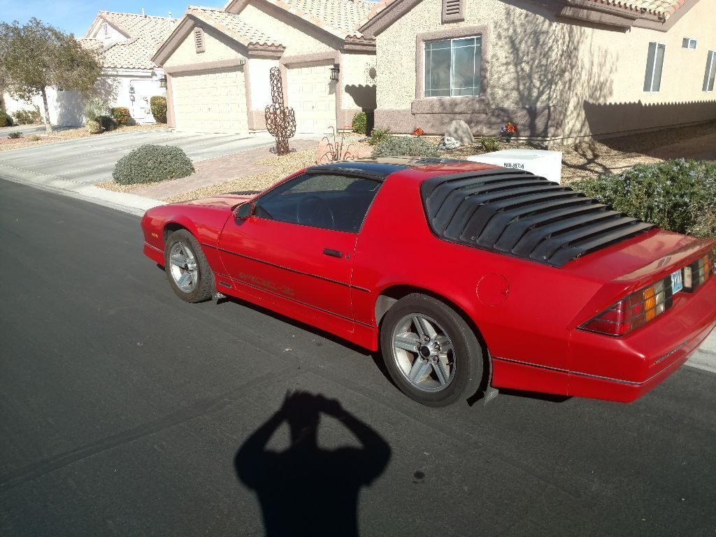 1987 Chevrolet Camaro IROC Z in great condition