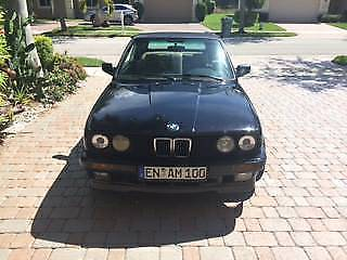 NICE 1989 BMW 3 Series Convertible for sale