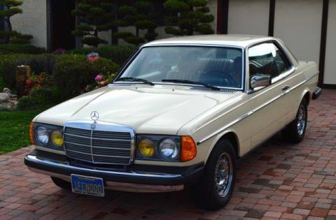 1982 Mercedes Benz 300 Series 300cd Turbo Diesel coupe in excellent condition for sale