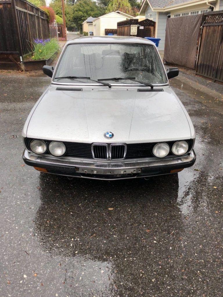 1985 BMW 5 Series 520i – RUST FREE