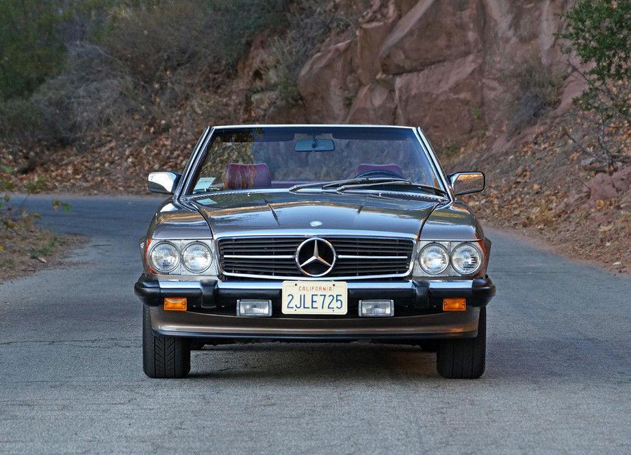 STUNNING 1987 Mercedes Benz SL Class 2 Door Convertible