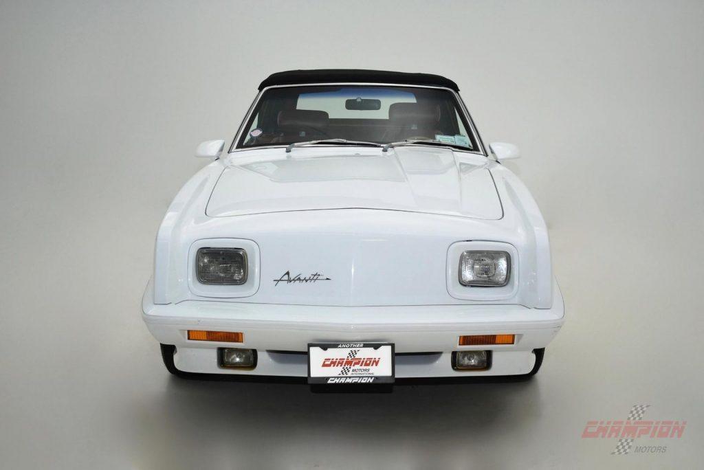 AMAZING 1989 Studebaker Avanti Convertible