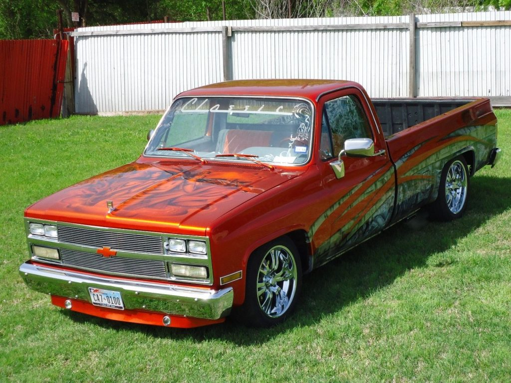 GREAT 1984 Chevrolet C 10