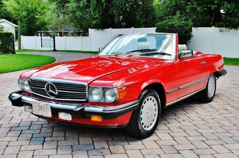 BEAUTIFUL 1989 Mercedes Benz 560 SL for sale