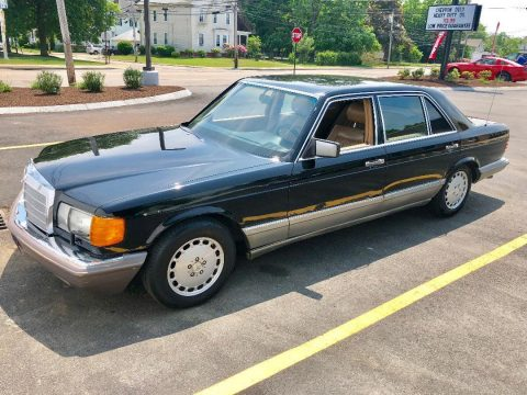 NICE 1987 Mercedes Benz 300 Series SDL for sale
