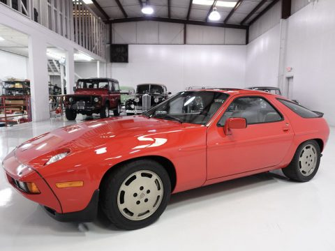 RARE 1986 Porsche 928 S Sunroof Coupe for sale