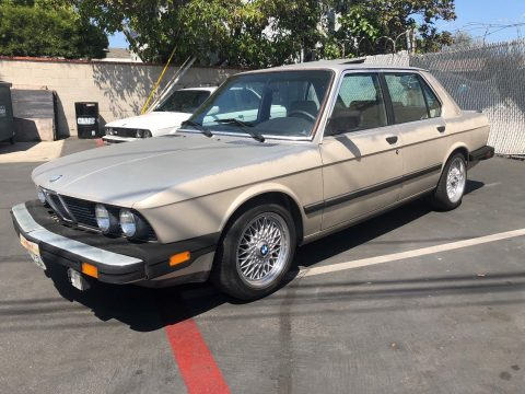 SUPER RARE 1985 BMW 5 Series for sale