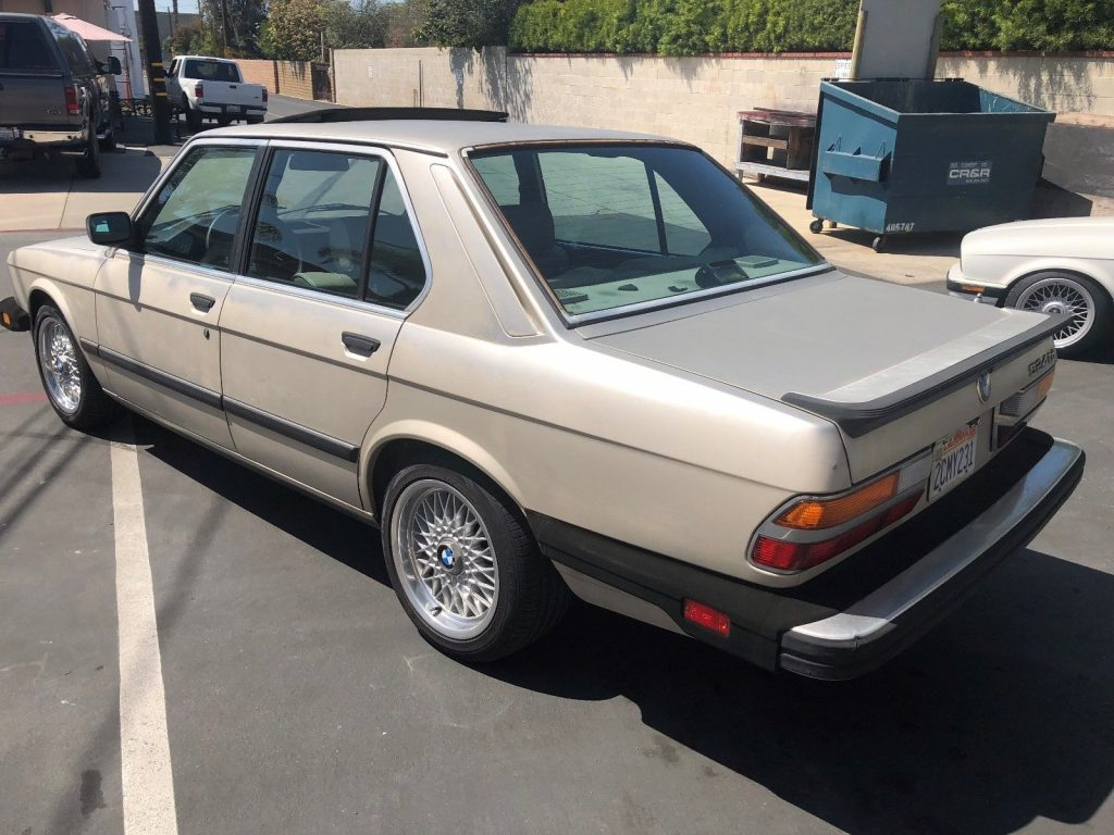 SUPER RARE 1985 BMW 5 Series