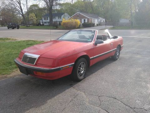 VERY NICE 1989 Chrysler LeBaron for sale
