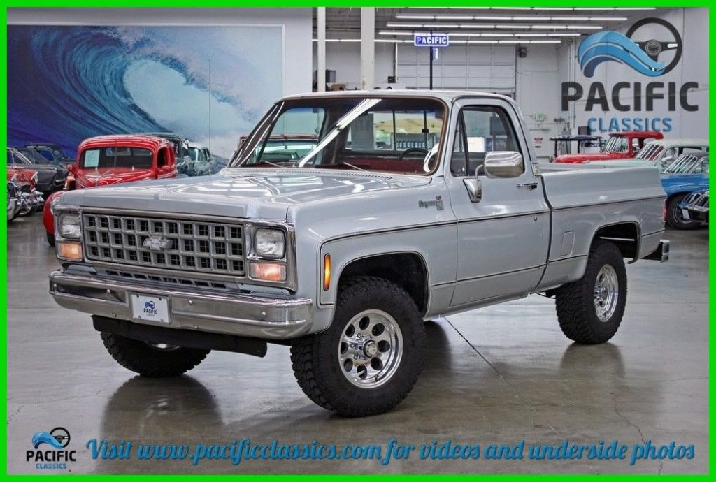 1980 Chevrolet Cheyenne 10 – Runs and drives great!