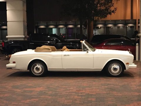 1981 Rolls Royce Corniche Convertible for sale