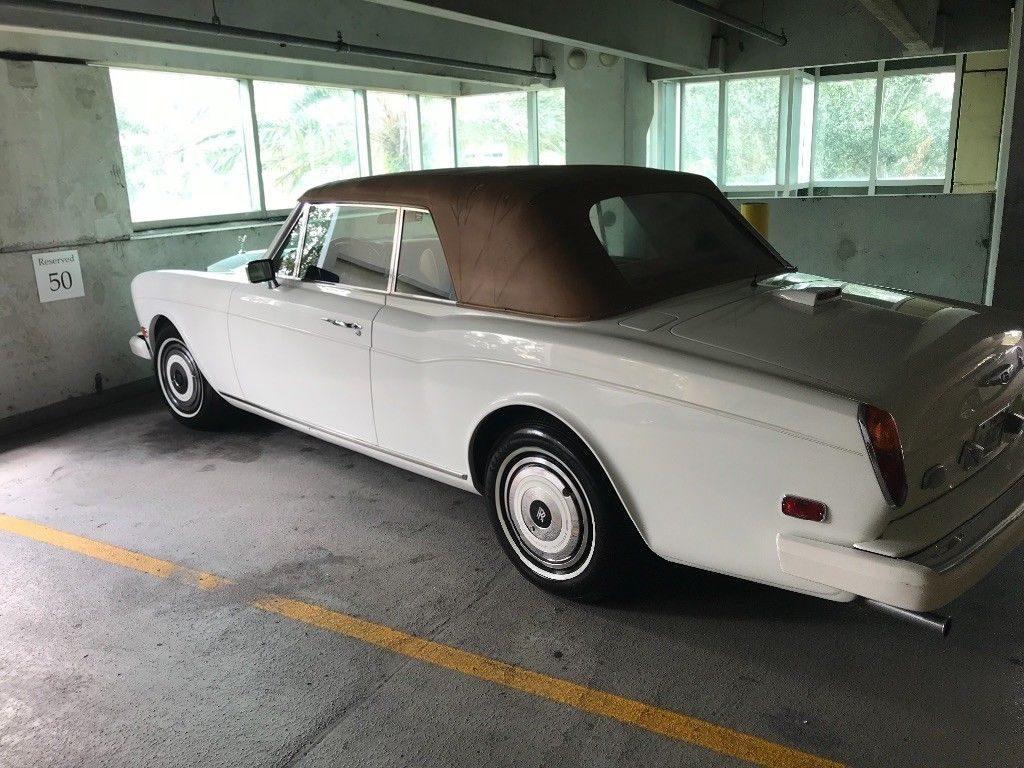 1981 Rolls Royce Corniche Convertible