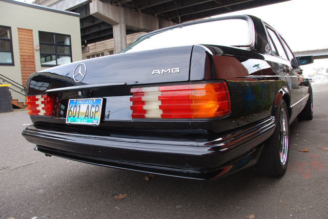 1983 Mercedes Benz 500 Series AMG in great condition
