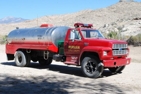 1986 Ford Potable Water Tank Truck for Sale for sale
